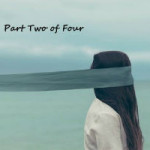 The Blind Faith of Atheism (Part 2 of 4) - Faith Versus Miracles - Weekly Blog Post by Dr. Craig Biehl - girl with long hair blindfolded