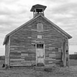 Jacob Goes to School - Weekly Blog Post by Dr. Craig Biehl - black and white old country barn
