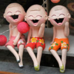 Are You Willing to Be Thought a Fool (For the Right Reasons)? - Weekly Blog Post by Dr. Craig Biehl - oriental laughing children sculpture