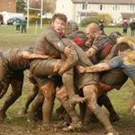 Holy Ones of the Highest One - Weekly Blog Post by Dr. Craig Biehl - muddy Rugby players