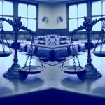 "The Human Limitations of Unreasonable Atheism (Part 20): ""Doctrinal Disproofs"" (Part D) - Weekly Blog Post by Dr. Craig Biehl - two scales of justice in empty courtroom"