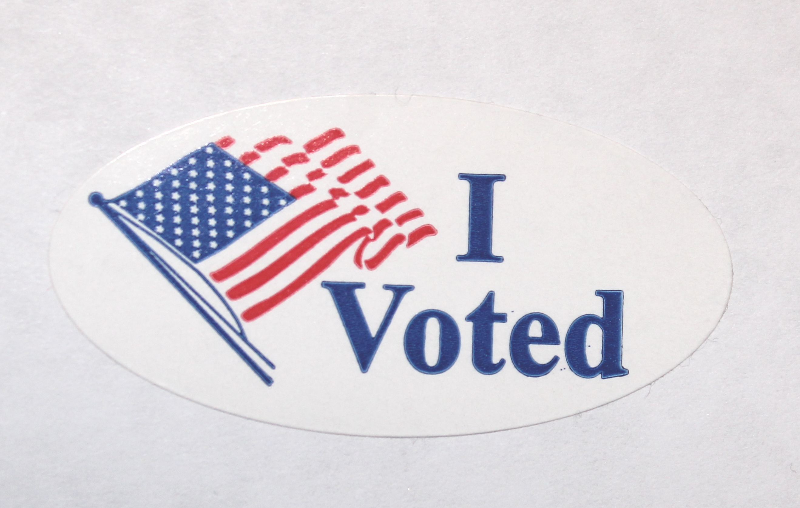 Vote for Your Neighbor - Weekly Blog Post by Dr. Craig Biehl - I Voted Sticker